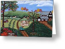 Cider Valley Greeting Card