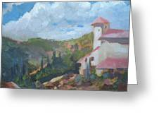Cielo Villa Greeting Card