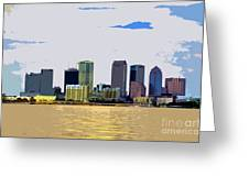 Cigar City Skyline Greeting Card
