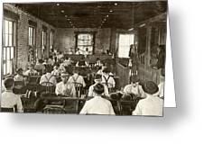 Cigar Factory, 1909 Greeting Card