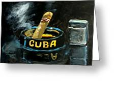 Cigar Greeting Card