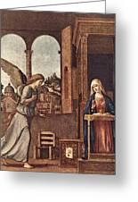 Cima Da Conegliano The Annunciation Greeting Card