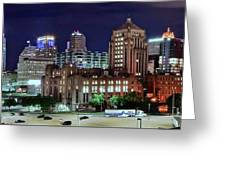 Cinci From The Opposite Side Greeting Card