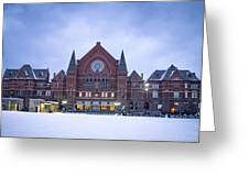 Cincinnati Music Hall  Greeting Card