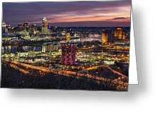 Cincinnati Sunrise Greeting Card