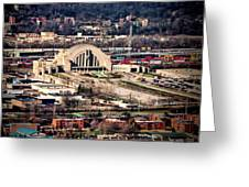 Cincinnati Union Terminal Greeting Card