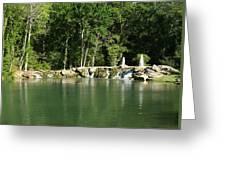 Cinco Ranch Lake Greeting Card