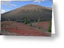 Cinder Cone And Painted Sands Greeting Card
