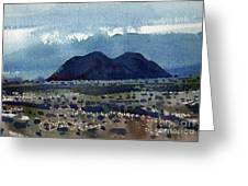 Cinder Cone Death Valley Greeting Card