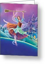 Cinderella Greeting Card by Anne Wertheim