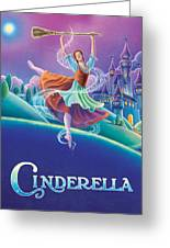 Cinderella Poster Greeting Card by Anne Wertheim