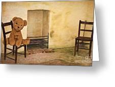 Cinders Bear Greeting Card