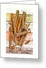 Cinnamon Bark Greeting Card