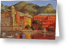 Cinqua Terra Italian Fishing Village Greeting Card