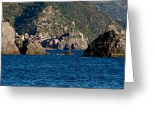 Cinque Terre Coast Greeting Card