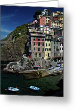 Cinque Terre Northern Italy Greeting Card