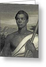 Cinque, The Chief Of The Amistad Captives Greeting Card