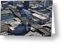 Cira Centre And Amtrak Garage 30th And Arch Streets Philadelphia Pa 19104  Greeting Card