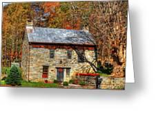 Circa 1776 Stone House Greeting Card
