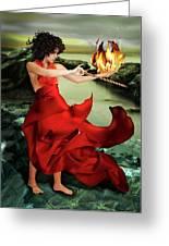 Circe, Greek Mythological Goddess Greeting Card
