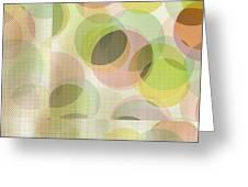 Circle Pattern Overlay Greeting Card