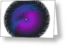 Circle Study No. 125 Greeting Card