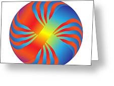 Circle Study No. 236 Greeting Card