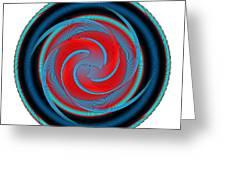 Circle Study No. 320 Greeting Card