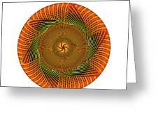 Circle Study No. 429 Greeting Card