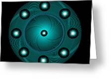Circle Study No. 465 Greeting Card