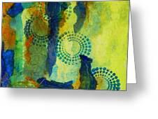 Circles 6 Greeting Card