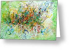 Circles Of Life Greeting Card