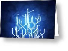 Circuit Board Technology Greeting Card
