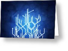 Circuit Board Technology Greeting Card