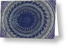Circular Abstract 9 Greeting Card