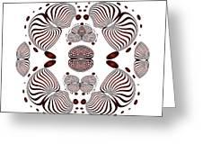 Circularity No 1638 Greeting Card