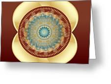 Circularity No 1641 Greeting Card