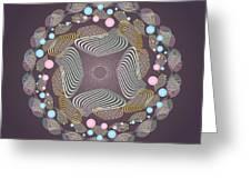 Circularity No 1645 Greeting Card