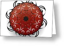 Circularium No. 2556 Greeting Card
