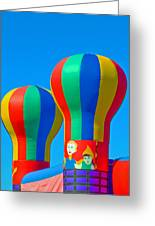 Circus In The Sky - Three Greeting Card
