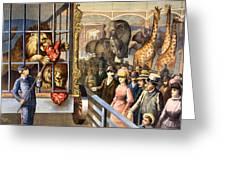 Circus Poster, C1891 Greeting Card