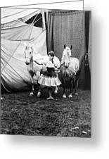 Circus: Rider, C1904 Greeting Card