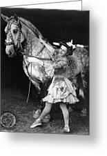 Circus: Rider, C1908 Greeting Card