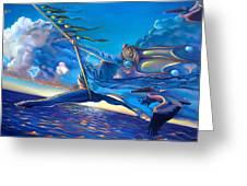 Cirque Du Sole Greeting Card