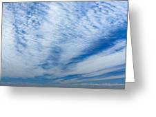 Cirrocumulus Greeting Card