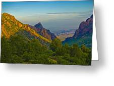 Chiscos Mountain Park Greeting Card