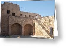 Citadel In Akko Greeting Card