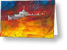 Citadelle Andalouse Greeting Card