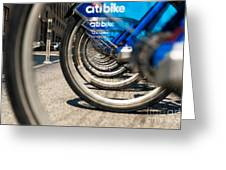 Citibike Manhattan Greeting Card