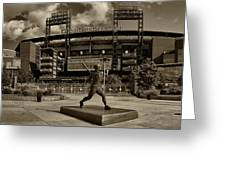 Citizens Park Panoramic Greeting Card